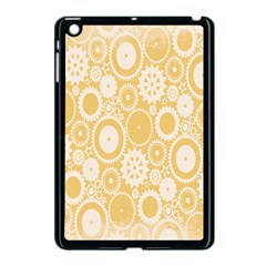 Wheels Star Gold Circle Yellow Apple Ipad Mini Case (black) by Alisyart