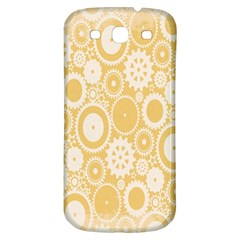 Wheels Star Gold Circle Yellow Samsung Galaxy S3 S Iii Classic Hardshell Back Case by Alisyart
