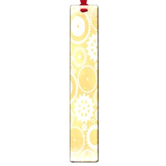 Wheels Star Gold Circle Yellow Large Book Marks by Alisyart
