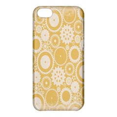 Wheels Star Gold Circle Yellow Apple Iphone 5c Hardshell Case by Alisyart