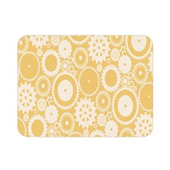 Wheels Star Gold Circle Yellow Double Sided Flano Blanket (mini)  by Alisyart