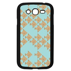 Fish Animals Brown Blue Line Sea Beach Samsung Galaxy Grand Duos I9082 Case (black) by Alisyart