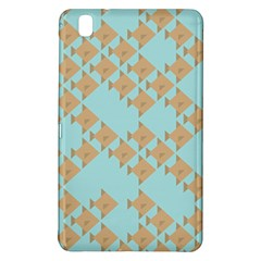 Fish Animals Brown Blue Line Sea Beach Samsung Galaxy Tab Pro 8 4 Hardshell Case by Alisyart