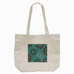 Fish Animals Star Brown Blue White Tote Bag (cream) by Alisyart