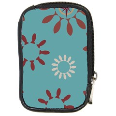 Fish Animals Star Brown Blue White Compact Camera Cases by Alisyart