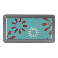 Fish Animals Star Brown Blue White Memory Card Reader (mini) by Alisyart