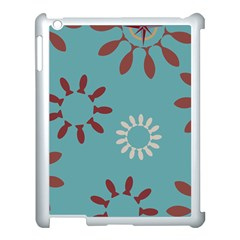 Fish Animals Star Brown Blue White Apple Ipad 3/4 Case (white) by Alisyart