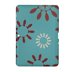 Fish Animals Star Brown Blue White Samsung Galaxy Tab 2 (10 1 ) P5100 Hardshell Case  by Alisyart