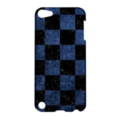 Square1 Black Marble & Blue Stone Apple Ipod Touch 5 Hardshell Case by trendistuff