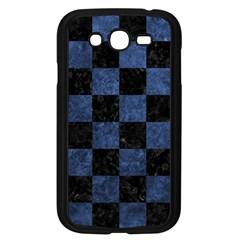 Square1 Black Marble & Blue Stone Samsung Galaxy Grand Duos I9082 Case (black) by trendistuff