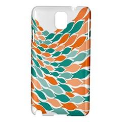 Fish Color Rainbow Orange Blue Animals Sea Beach Samsung Galaxy Note 3 N9005 Hardshell Case by Alisyart