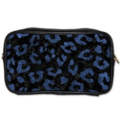 Skin5 Black Marble & Blue Stone (r) Toiletries Bag (two Sides) by trendistuff