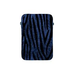 Skin4 Black Marble & Blue Stone Apple Ipad Mini Protective Soft Case by trendistuff