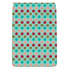 Large Circle Rainbow Dots Color Red Blue Pink Flap Covers (s)  by Alisyart