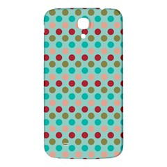 Large Circle Rainbow Dots Color Red Blue Pink Samsung Galaxy Mega I9200 Hardshell Back Case by Alisyart
