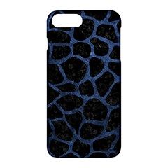 Skin1 Black Marble & Blue Stone (r) Apple Iphone 7 Plus Hardshell Case by trendistuff