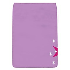 Purple Flagred White Star Flap Covers (s)  by Alisyart