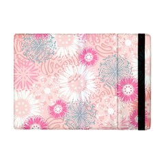 Flower Floral Sunflower Rose Pink Apple Ipad Mini Flip Case by Alisyart