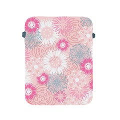 Flower Floral Sunflower Rose Pink Apple Ipad 2/3/4 Protective Soft Cases by Alisyart
