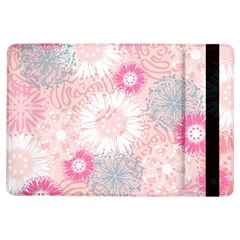 Flower Floral Sunflower Rose Pink Ipad Air Flip by Alisyart