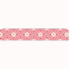 Pink Flower Floral Small Bar Mats by Alisyart