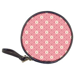 Pink Flower Floral Classic 20 Cd Wallets by Alisyart