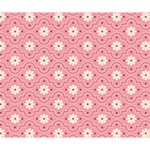 Pink Flower Floral Deluxe Canvas 14  x 11  14  x 11  x 1.5  Stretched Canvas
