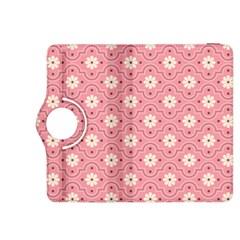 Pink Flower Floral Kindle Fire Hdx 8 9  Flip 360 Case by Alisyart