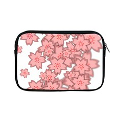 Flower Floral Pink Apple Ipad Mini Zipper Cases by Alisyart