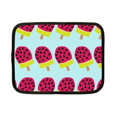 Watermelonn Red Yellow Blue Fruit Ice Netbook Case (small)  by Alisyart