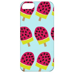 Watermelonn Red Yellow Blue Fruit Ice Apple Iphone 5 Classic Hardshell Case by Alisyart