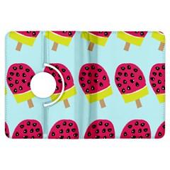 Watermelonn Red Yellow Blue Fruit Ice Kindle Fire Hdx Flip 360 Case by Alisyart