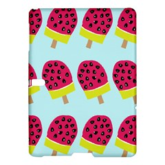Watermelonn Red Yellow Blue Fruit Ice Samsung Galaxy Tab S (10 5 ) Hardshell Case  by Alisyart