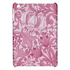 Vintage Style Floral Flower Pink Apple Ipad Mini Hardshell Case by Alisyart