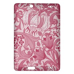 Vintage Style Floral Flower Pink Amazon Kindle Fire Hd (2013) Hardshell Case by Alisyart