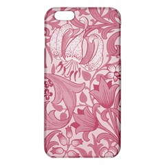 Vintage Style Floral Flower Pink iPhone 6 Plus/6S Plus TPU Case by Alisyart