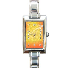 Exotic Backgrounds Rectangle Italian Charm Watch by Simbadda