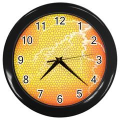 Exotic Backgrounds Wall Clocks (black) by Simbadda