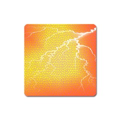 Exotic Backgrounds Square Magnet by Simbadda
