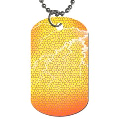 Exotic Backgrounds Dog Tag (two Sides) by Simbadda