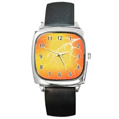 Exotic Backgrounds Square Metal Watch by Simbadda