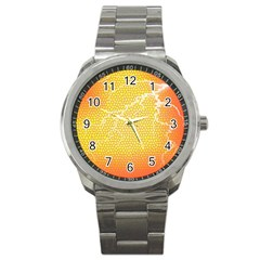 Exotic Backgrounds Sport Metal Watch by Simbadda