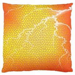 Exotic Backgrounds Large Cushion Case (one Side) by Simbadda