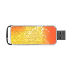 Exotic Backgrounds Portable Usb Flash (one Side) by Simbadda