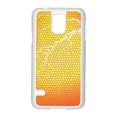 Exotic Backgrounds Samsung Galaxy S5 Case (white) by Simbadda