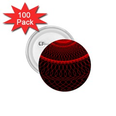 Red Spiral Featured 1.75  Buttons (100 pack)
