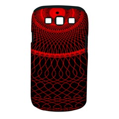 Red Spiral Featured Samsung Galaxy S Iii Classic Hardshell Case (pc+silicone) by Alisyart