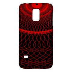 Red Spiral Featured Galaxy S5 Mini by Alisyart