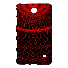 Red Spiral Featured Samsung Galaxy Tab 4 (8 ) Hardshell Case  by Alisyart
