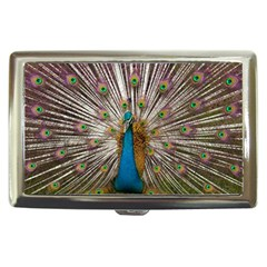 Indian Peacock Plumage Cigarette Money Cases by Simbadda